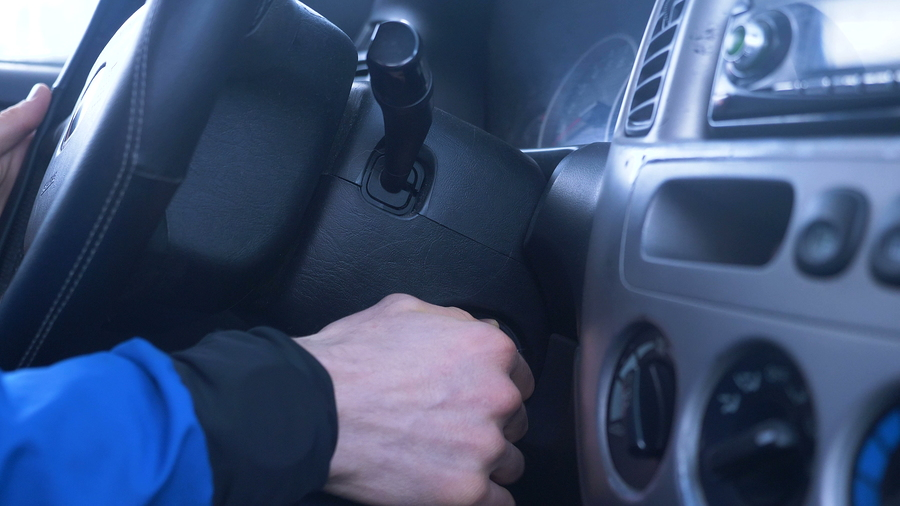car key cant turn