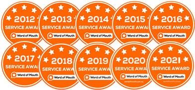 galmier auto locksmiths womo service award icons